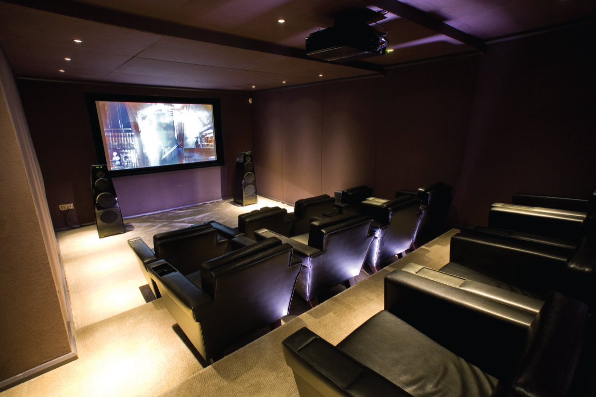 Dunhill London Cinema Room Rpa Group